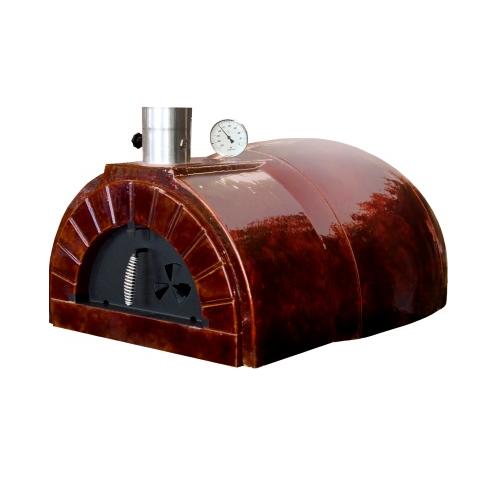 Houtstook enzo Amphora oven pizza oven steen oven pizzaoven