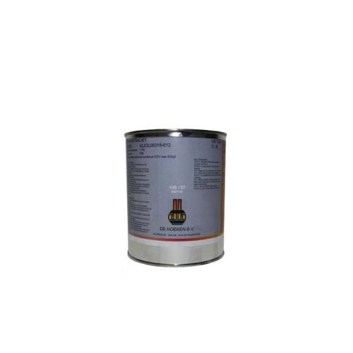 New Hittebestendige verf Blik 1 liter Zwart | Houtstook & Zo #HG75