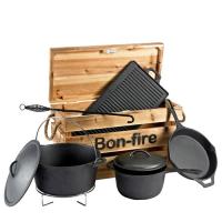 Houtstook enzo Bonfire kookkist dutch oven