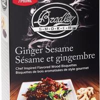 Houtstook enzo Bradley Smoker Premium Gember-Sesam Bisquetten 48 stuks