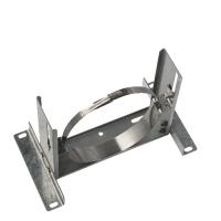 Houtstook enzo rookkanaal isoduct 125 mm dw muurbeugel verstelbaar zwaar
