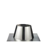 Houtstook enzo rookkanaal isoduct 125 mm plakplaat