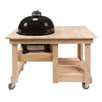 Houtstook enzo Primo Grill Counter Top Oval XL cyprestafel