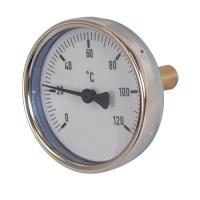 Houtstook enzo bimetaal-wijzerthermometer